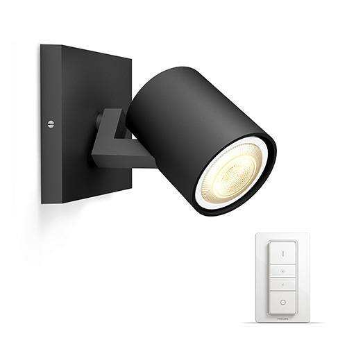 Runner Hue single spot black 1x5.5W 230V